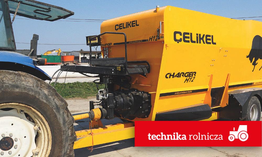 Artykuł Technika Rolnicza 05-2019 - Wóz paszowy Celikel Charger H12