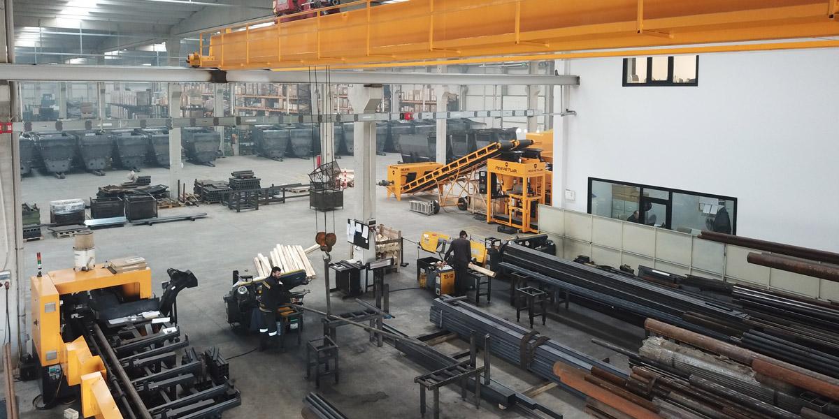 Maszyny rolnicze - Celikel Polska - Produkcja